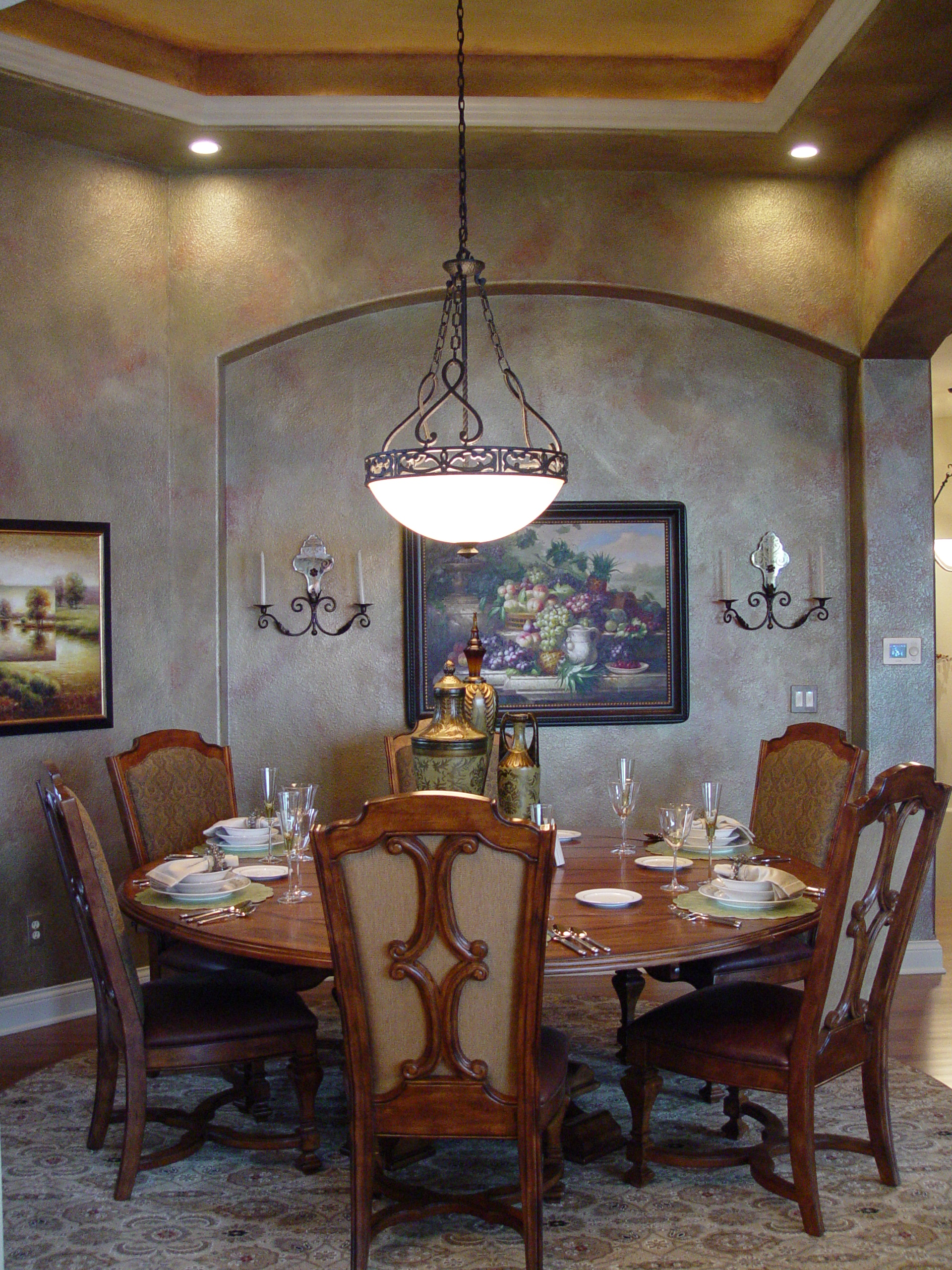 Dining room design ideas interior design firm for Dining room niche ideas