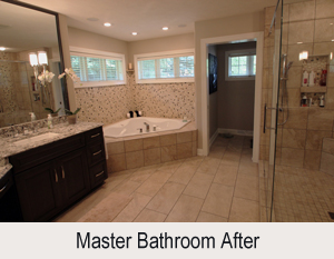 Master Bathroom Makeover Interior Design Firm