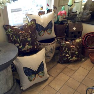 Butterfly-pillows