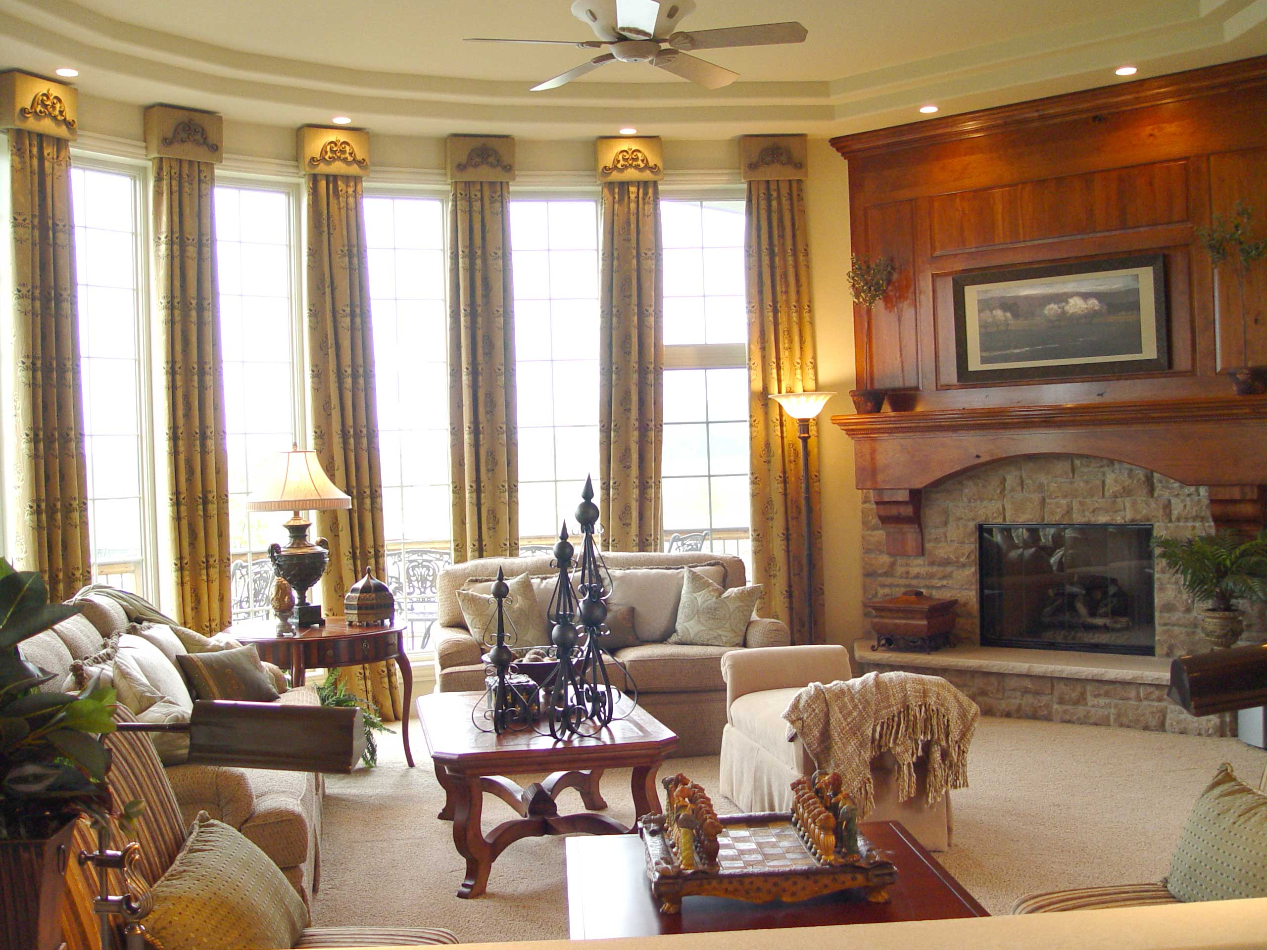 In november we added plantation shutters and i furnished with a sofa - Window Treatments Why Do We Need Them Window Treatments Pegasus Design Group Interior Design Pegasus Design Group Llc