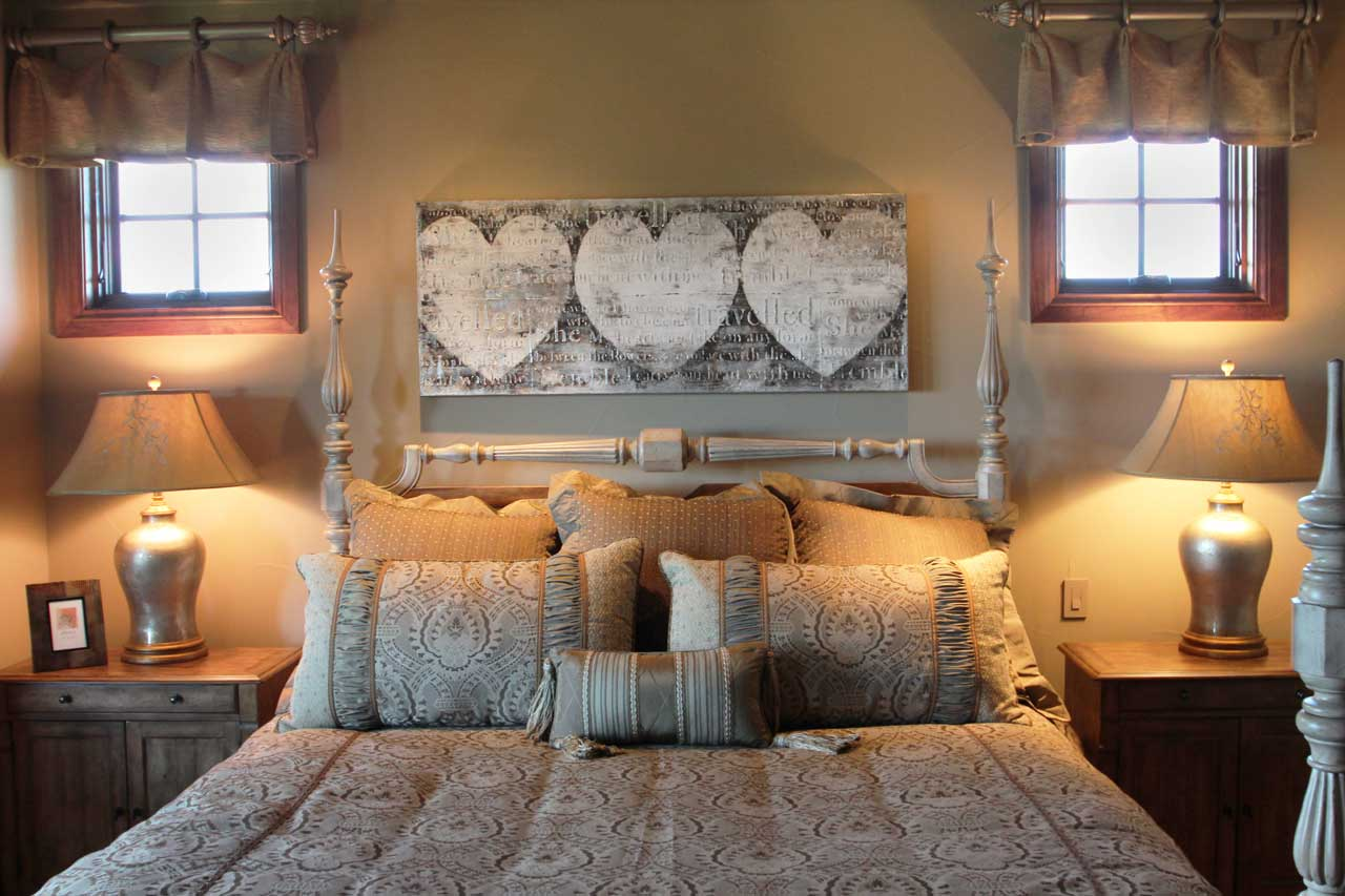 Interior Design Guest Bed Room | Pegasus Design Group | Milwaukee, WI
