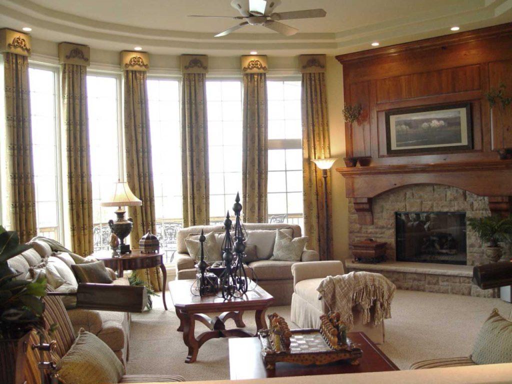 Interior Design Formal Great Room | Pegasus Design Group | Milwaukee, WI