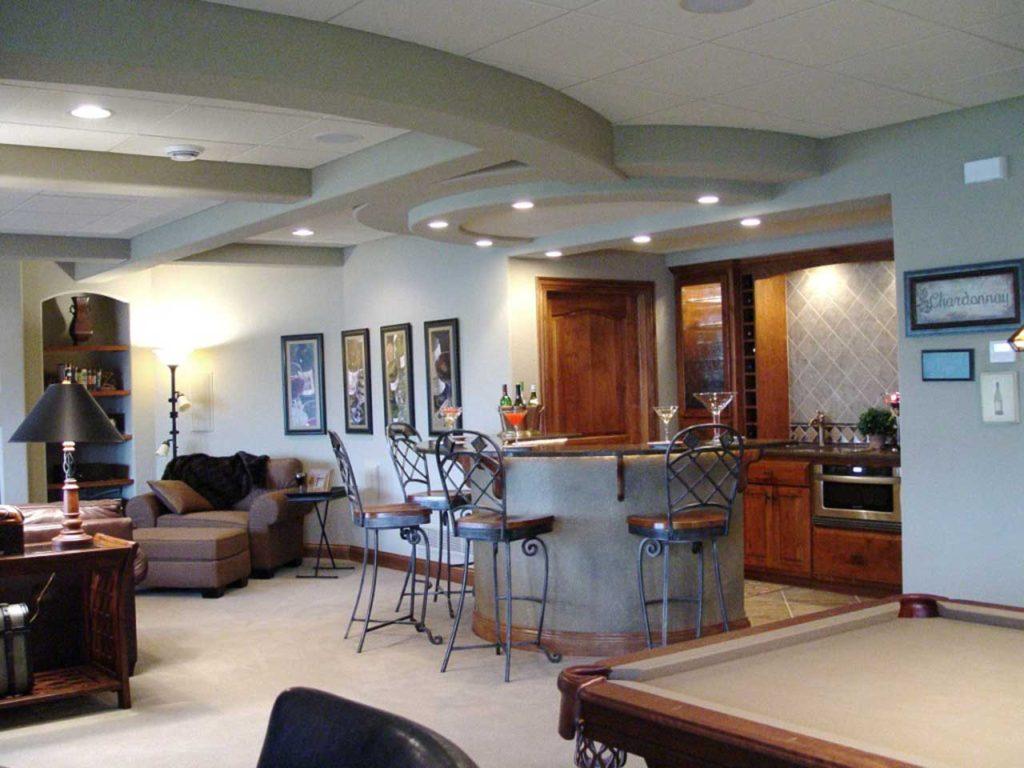 Interior Design Game Room   Pegasus Design Group   Milwaukee, WI