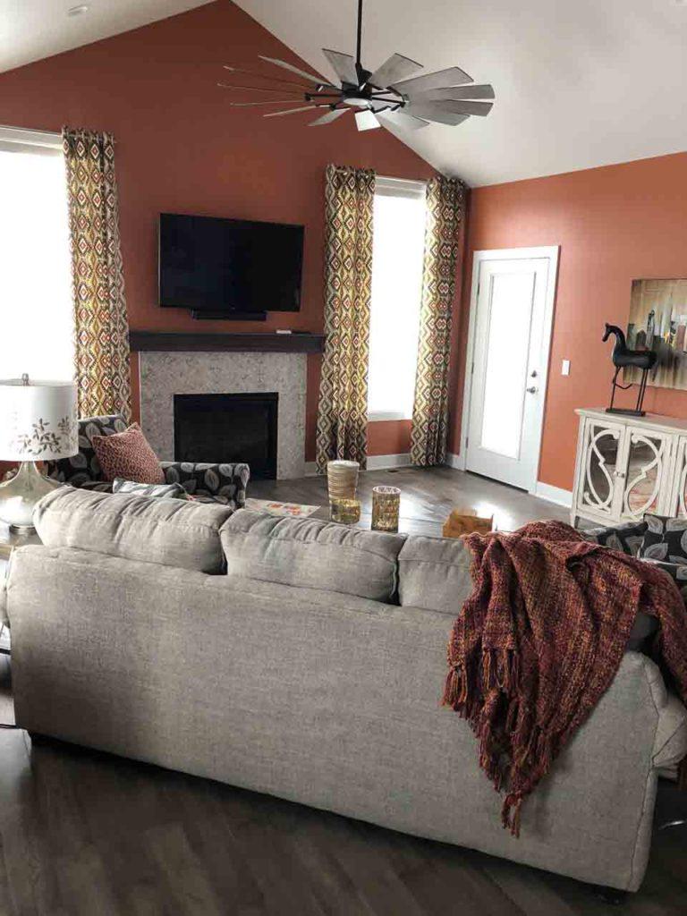 Interior Design Living Space | Pegasus Design Group | Milwaukee