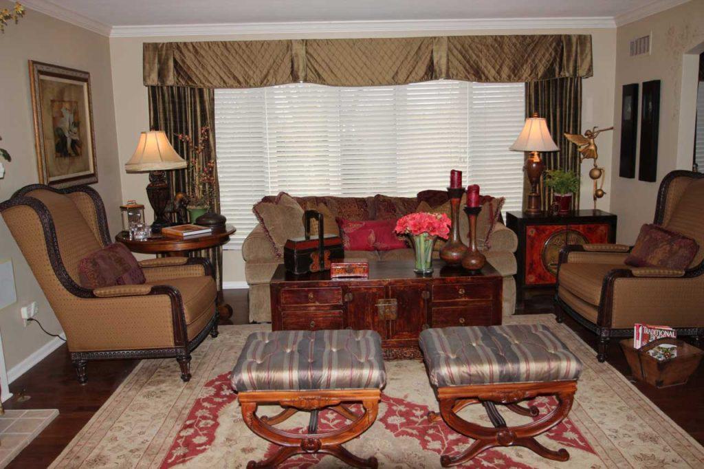 Interior Design Casual Sitting Room | Pegasus Design Group | Milwaukee, WI