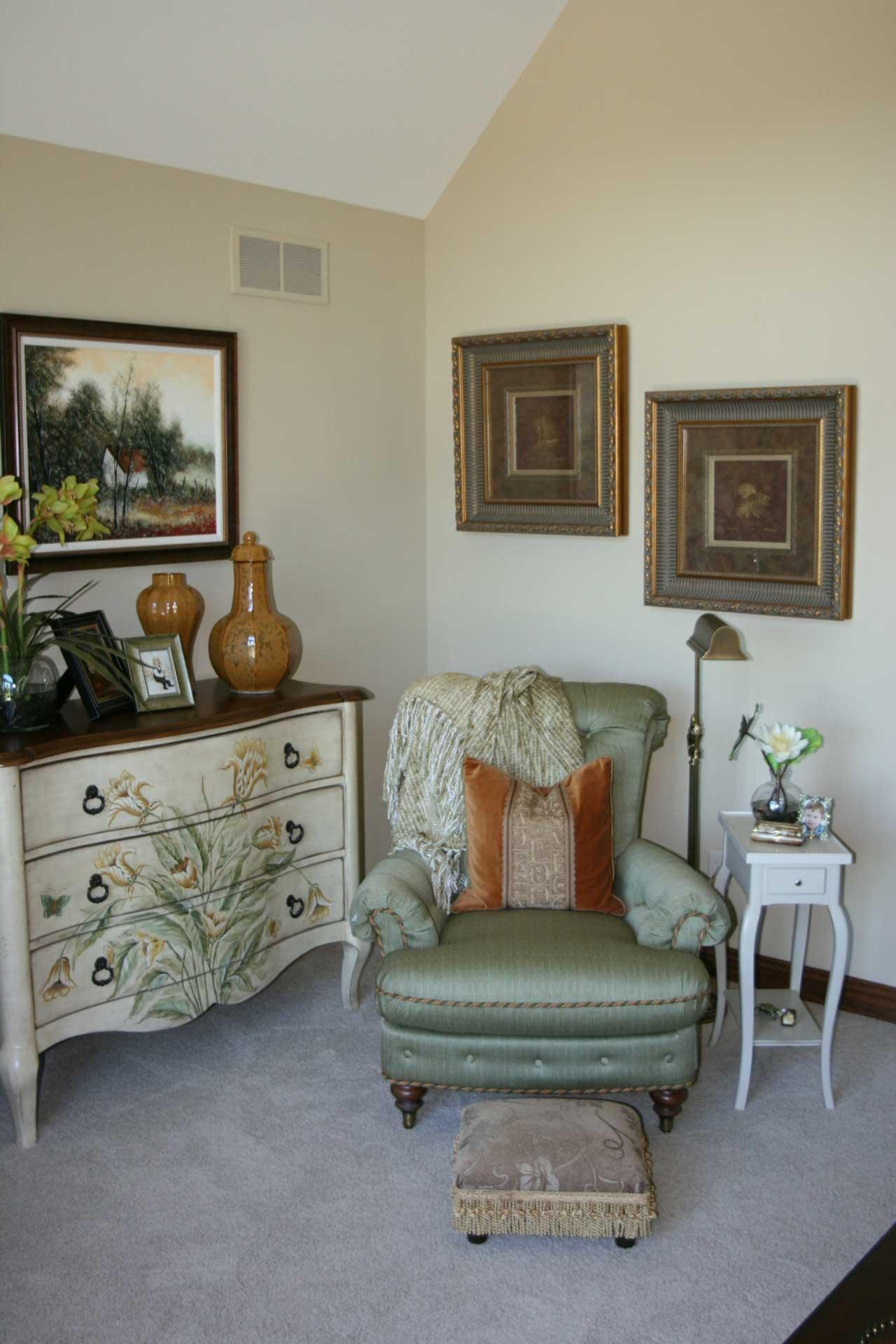 Bon Interior Design Patio | Pegasus Design Group | Milwaukee, WI