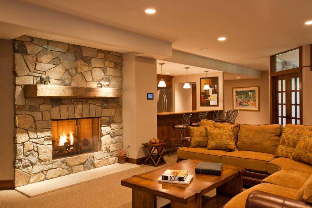 Interior Design Basement | Pegasus Design Group | Milwaukee, WI