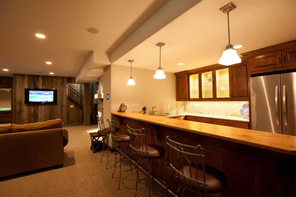 Interior Design Rec Room   Pegasus Design Group   Milwaukee, WI
